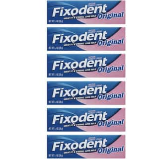 Fixodent 1.4-ounce Original Denture Adhesive Cream (Pack of 6)|https://ak1.ostkcdn.com/images/products/8655236/P15915007.jpg?impolicy=medium