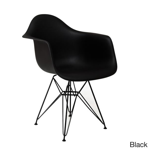 American Atelier Living Banks Black Leg Chair