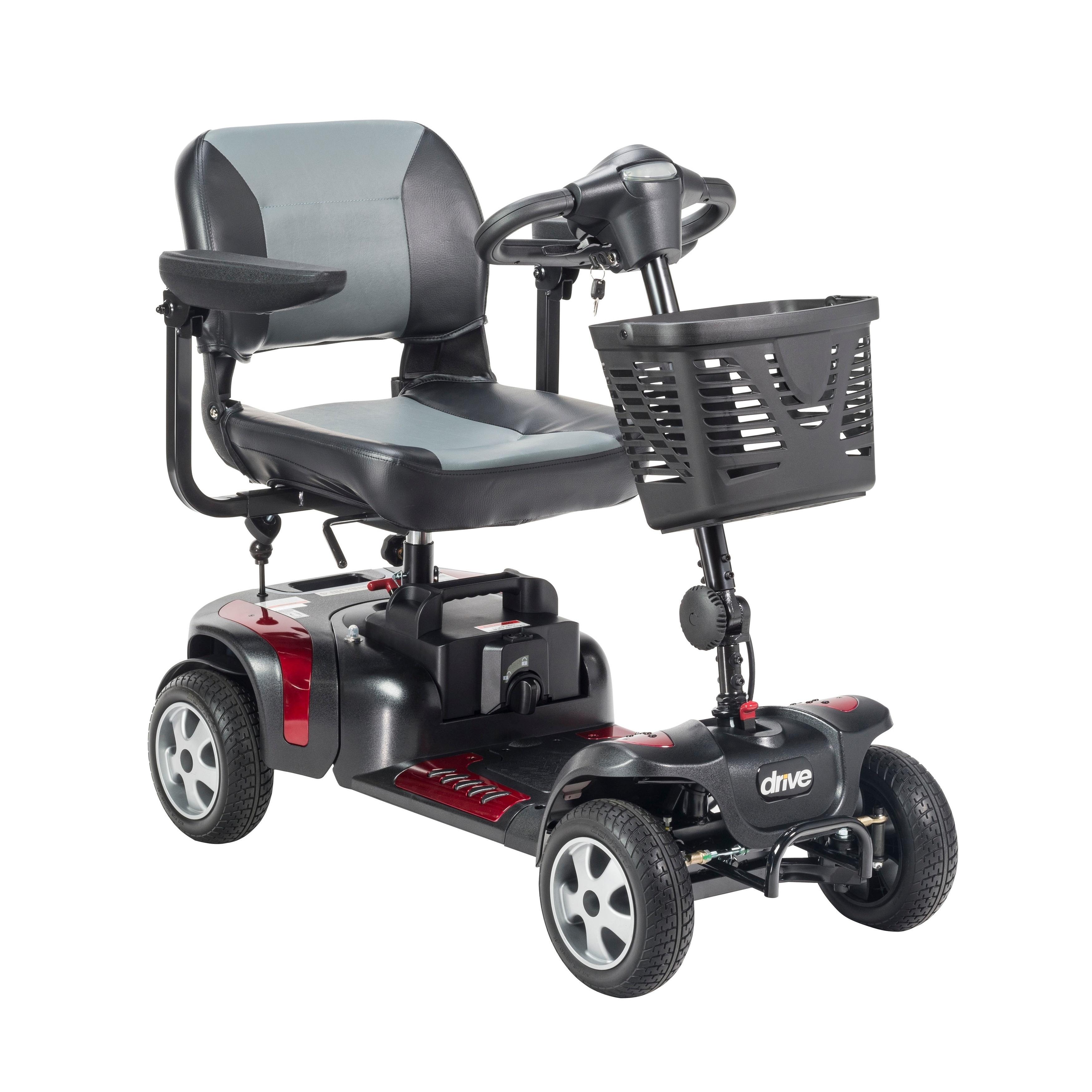 Drive Medical Phoenix 4-wheel Heavy-duty Scooter (4 Wheel...