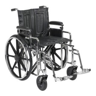 Drive Medical Sentra EC Heavy Duty Wheelchair