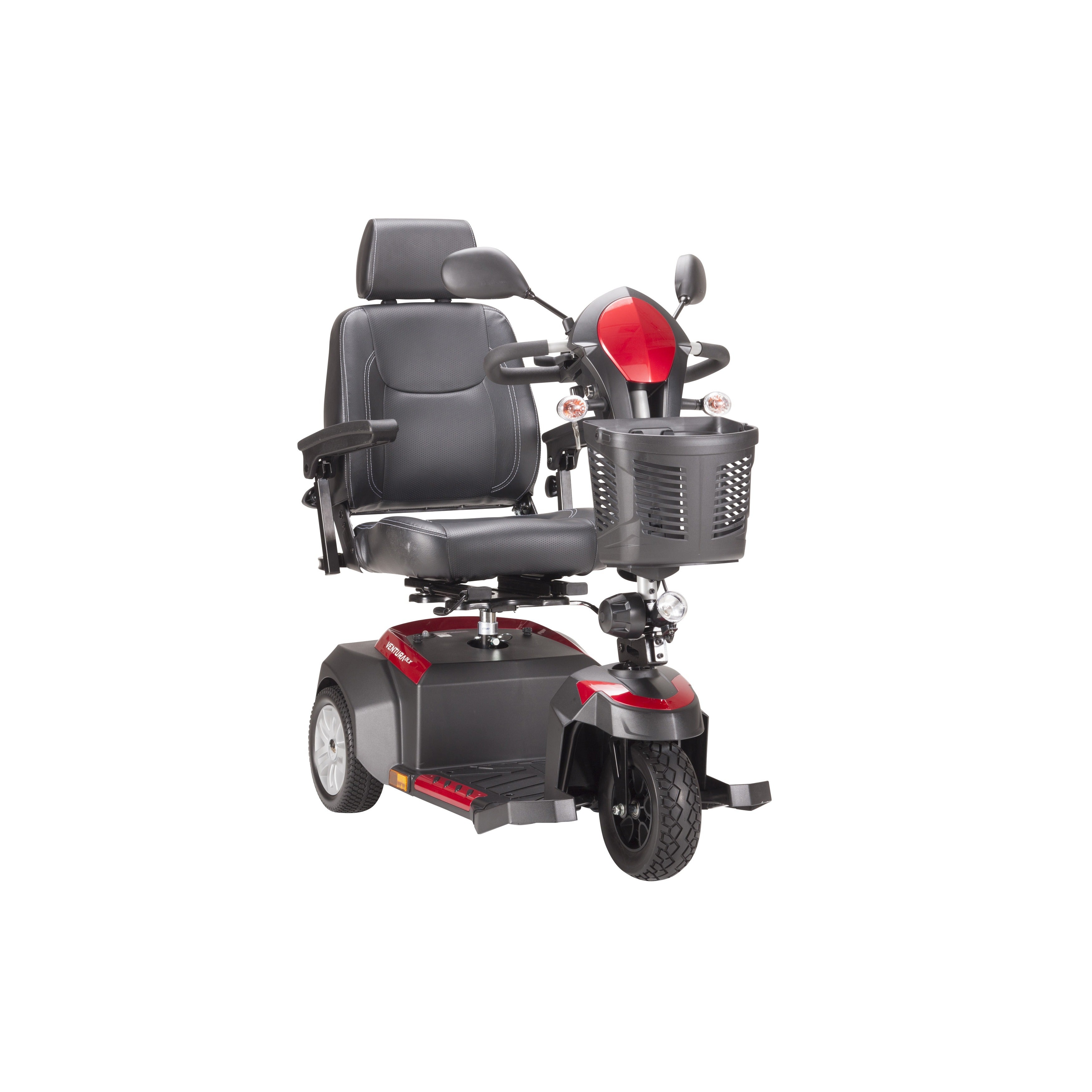 Drive Medical Ventura 3-wheel Scooter (20-inch Captains S...