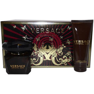 Versace 'Crystal Noir' Women's 3-piece Gift Set