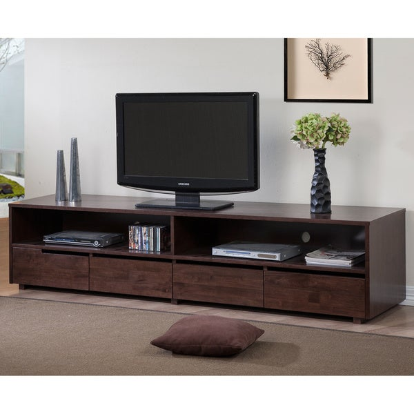 Carson Carrington Burke 4 Drawer Entertainment Center