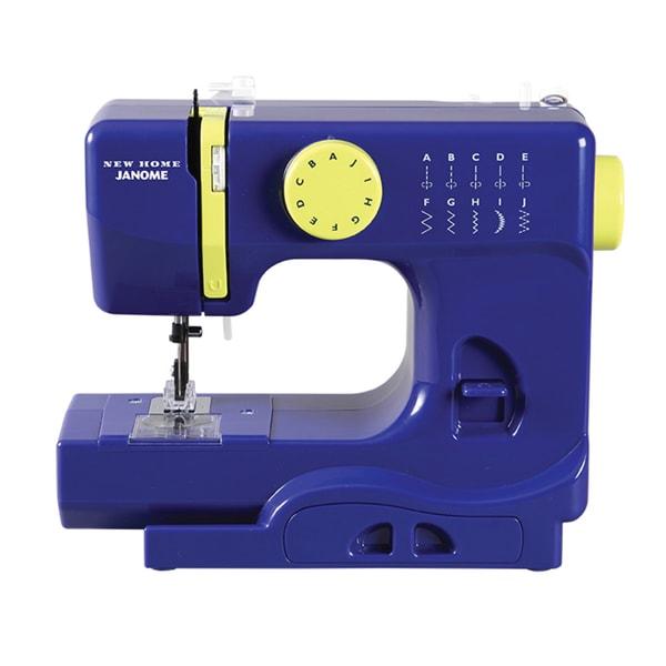 Janome Buzzin Blue 1/2 Size Portable Sewing Machine