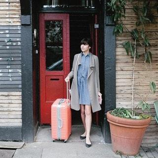 Lojel Groove Frame 31-inch Hardside Spinner Upright Suitcase