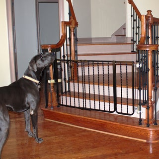 Cardinal Wrought Iron Decor Gate 10.5-inch Width Extension