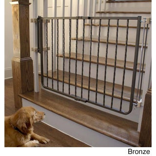 Cardinal Wrought Iron Decor Gate (Option: Brown)