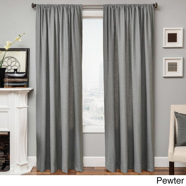 Softline Don 96 Inch Rod Pocket Curtain Panel 55 X 96 Free Shipping Today