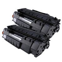 HP Q7553A (53A) Compatible Black Laser Toner Cartridge (Pack of 2)