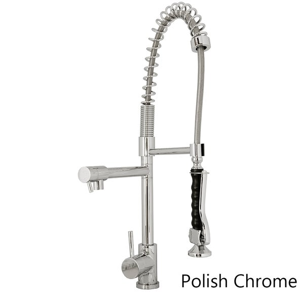 kitchen faucets made in usa virtu usa single handle kitchen faucet in brush nickel 24690