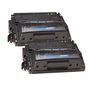 HP Q5942X (HP 42X) Compatible Black Laser Toner Cartridge (Pack of 2)
