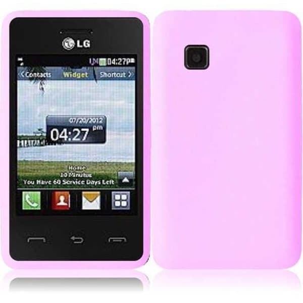 INSTEN Soft Silicone Phone Case Cover for LG 840G