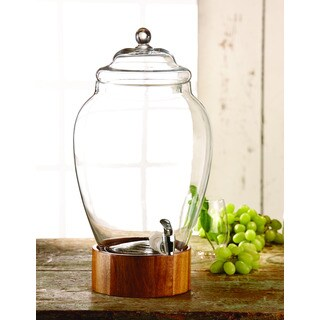 Madera 3-gallon Glass Beverage Dispenser