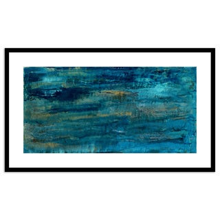 Gallery Direct Aquatic Framed Paper