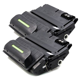 HP Q1338A (HP 38A) Remanufactured Compatible Black Toner Cartridge (Pack of 2)
