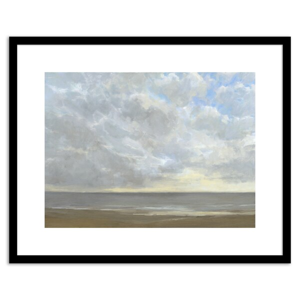 Gallery Direct Silver Linings I Framed Paper
