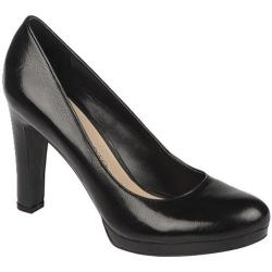 Women's Franco Sarto Baroque Black Leather