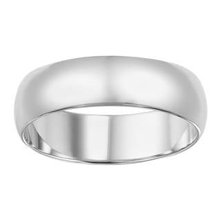 Cambridge Platinum 6-mm Plain Band