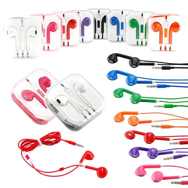 Gearonic Eearbud Earphone Headset Earpods for Apple iPhone 5 5S