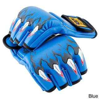 Gearonic MMA Grappling Boxing Fight Punch PU Leather Gloves