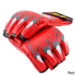 Gearonic MMA Grappling Boxing Fight Punch PU Leather Gloves (2 options available)