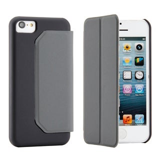Gearonic PU Leather Flip Flap Cover Case with Stand Combo for iPhone 5C