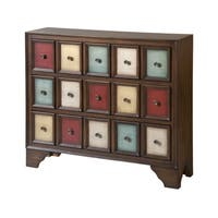 Brody Multicolored Wood 3-drawer Accent Chest