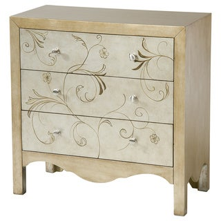 Shannon Metallic 3-drawer Accent Chest