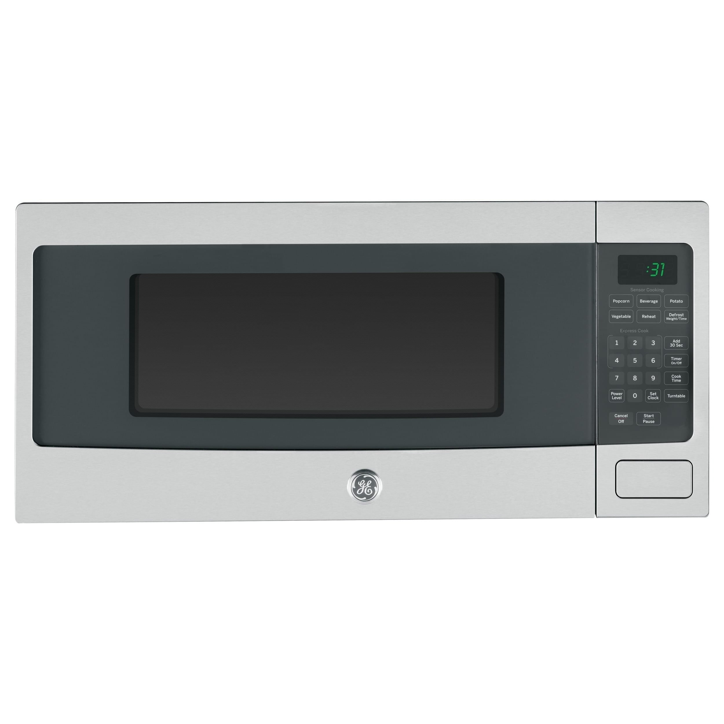 GE Profile PEM31SFSS Stainless Steel Countertop Microwave...