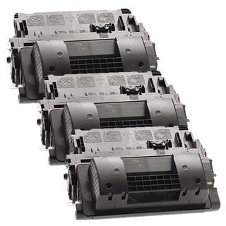 HP CE390X (HP 90X) Remanufactured Compatible Black Toner Cartridge (Pack of 3)