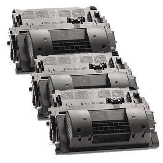 HP CE390A (HP 90A) Remanufactured Compatible Black Toner Cartridge (Pack of 3)