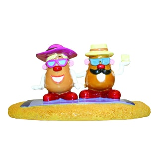 Mr. Potato Head Sunbathing Aquarium Ornament