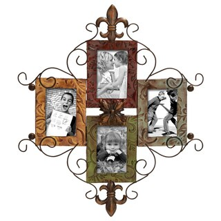 Copper Grove Corinth 4-opening Metal Photo Frame