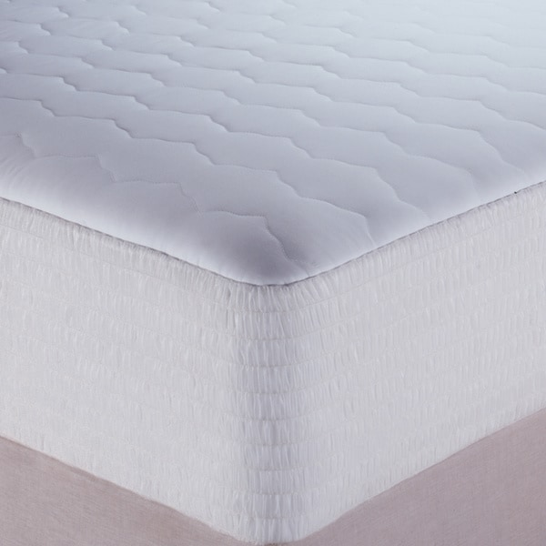Shop Beautyrest Cotton Waterproof Mattress Pad Free