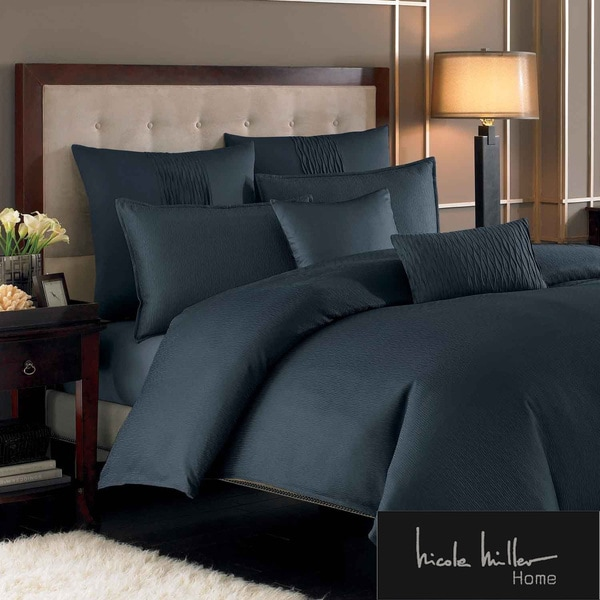 Nicole Miller Currents Ink Duvet Cover and Sham Separates