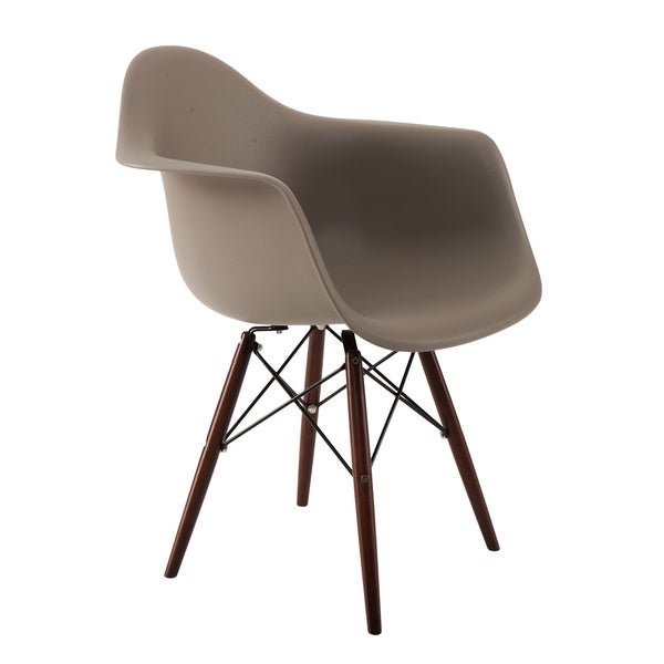 American Atelier Living Banks Grey/ Brown Chair