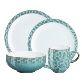 Denby Azure Shell 4-piece Place Setting