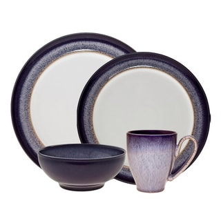 Denby Heather 4-piece Place Setting  sc 1 st  Overstock & Purple Dinnerware For Less | Overstock
