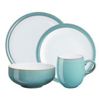Denby Azure 4-piece Place Setting  sc 1 st  Overstock & Denby Dinnerware For Less | Overstock