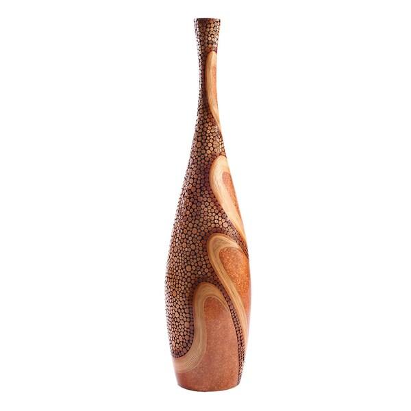 Dancer Bronze Floor Vase
