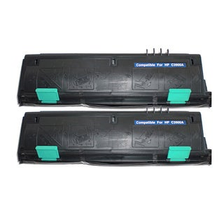 HP C3900A (HP 00A) Remanufactured Compatible Black Toner Cartridge (Pack of 2)