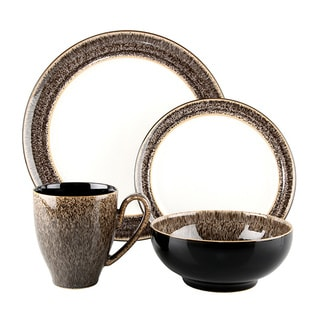 Denby Praline 4-piece Place Setting