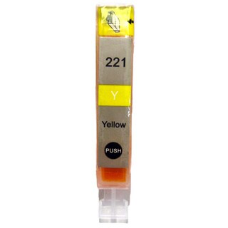 Compatible Canon CLI 221 Yellow Ink Cartridge