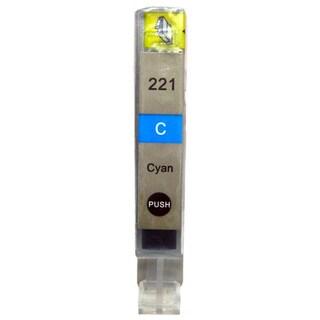Compatible Canon CLI 221 Cyan Ink Cartridge