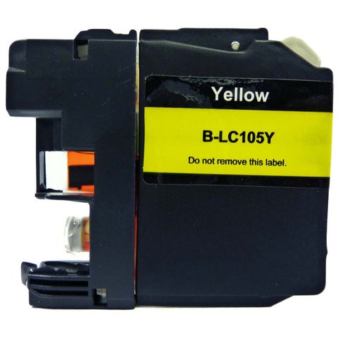 Compatible Brother LC105 Yellow Ink Cartridge