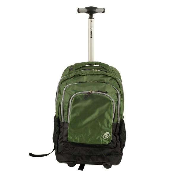 1b58dac737f Shop Olympia 'Gen-X' 19-inch Rolling Carry On Backpack - Free ...