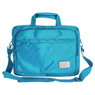 "Digital Treasures ToteIt! Deluxe Carrying Case for 15"" Notebook - Blu"