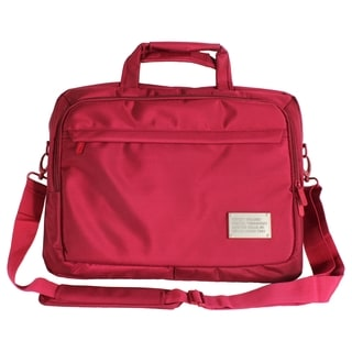 "Digital Treasures ToteIt! Deluxe Carrying Case for 15"" Notebook - Red"