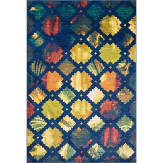 Laurent Blue/ Multi Rug (2'0 x 3'0)