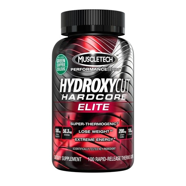 Hydroxycut Hardcore Elite Dietary Supplement (100 Rapid-Release Thermo Caps)